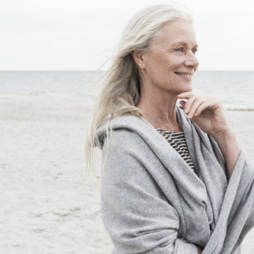 Pia Gronning Wears Catherine Robinson Cashmere