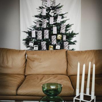 DIY Nordic tree Advent Christmas Calendar